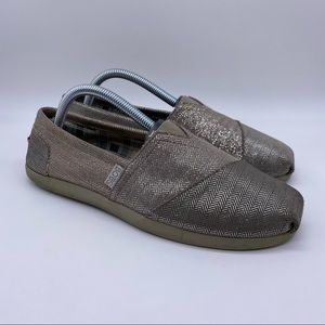 BOBS from Skechers Flat Silver Shoes